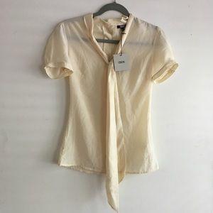 ASOS cream blouse
